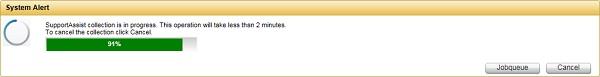 SLN295784_en_US__5iDRAC7_iDRAC8_SupportAssist_Collection_Progress
