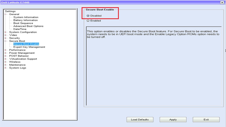 SLN142679_it__4UEFI_BIOS_SecureBoot_Disabled