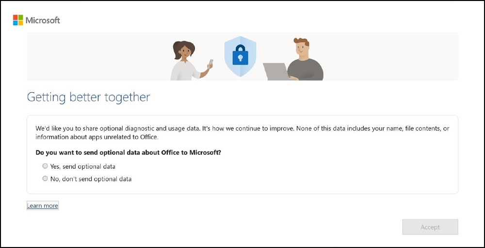 Microsoft Getting Better Together