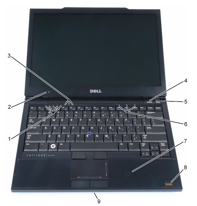Latitude E4300: Visual Guide to your Computer | Dell US