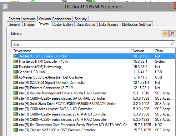 System Center Configuration Manager Properties