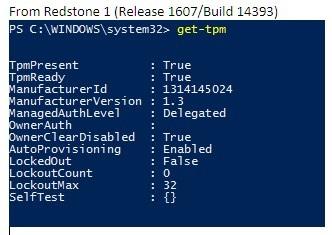 HOW12395_ja__6get tpm command Windows 10 1607