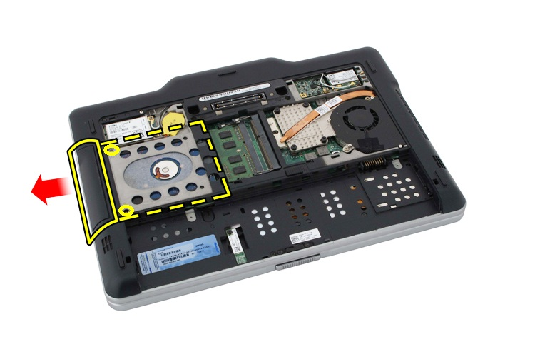 How To Remove The Hard Drive From A Dell Laptop Dell Uk