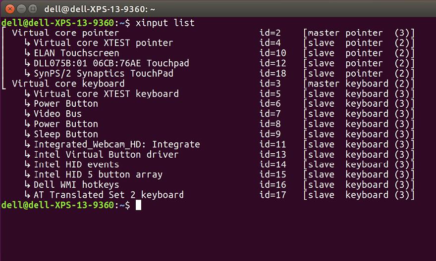 ubuntu terminal window screenshot