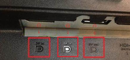 Dell Monitor DisplayPort Marking