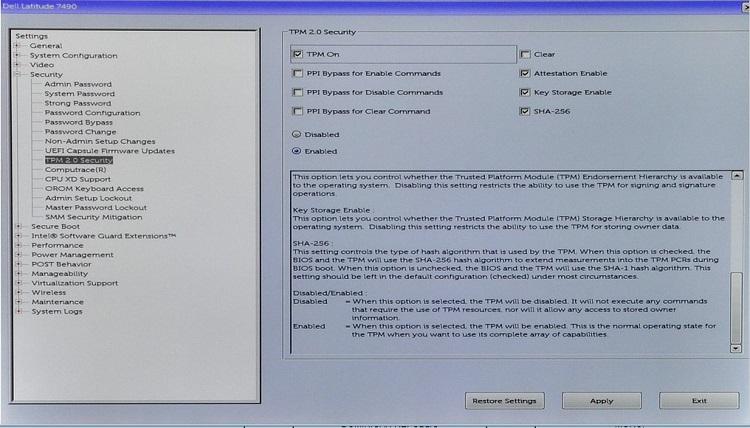 HOW12395_en_US__2TPM 2_0 Security BIOS setting
