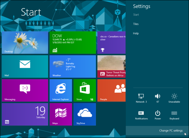 How To Change Account Picture Lock Screen And Start Screen Wallpaper In Windows 8 Dell Us