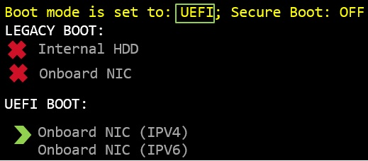 How to configure PXE booting over UEFI on a PowerEdge ...