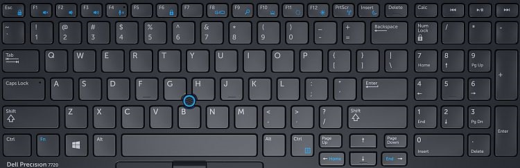 Dell Precision 7720 Mobile Workstation Keyboard Guide Dell Us