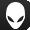 Logo de cabeza de Alienware