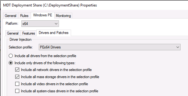 HOW11493_es__16Choose PEx64 drivers
