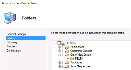 HOW11493_no__11New Selection Profile Wizard